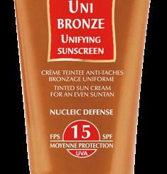 Uni Bronze SPF 15 crema colorata Guinot Estetica Tiziano Talenti Roma