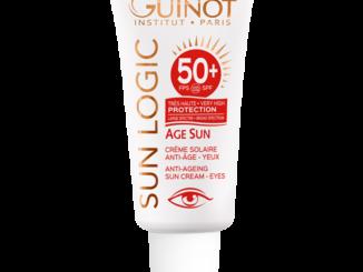 Crema solare anti-age occhi