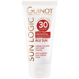 Crema viso alta protezione solare e anti-age