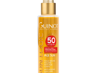 Olio alta protezione solare per il corpo